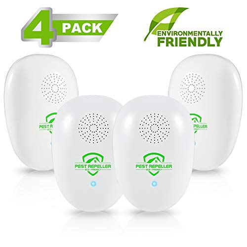 KOEPUO Electronic Pest Repeller, Ultrasonic Spider Repellent Plug In Pest...