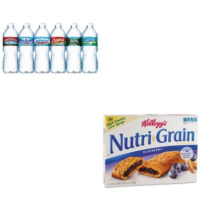 kitkeb35745nle101243-value-kit-kelloggs-nutri-grain-cereal-bars-keb35745-and-nestle-bottled-spring-w