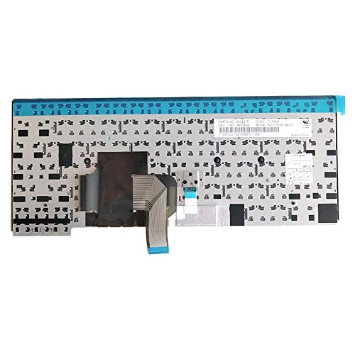 Yaxinglinan Compatible with Replacement for Lenovo ThinkPad L440 L450 T440 T440P T431S T440S T450 T450S T460 US English Keyboard No Backlit 04Y0824 04Y0862 Latin Keyset Latin Version 90/% New