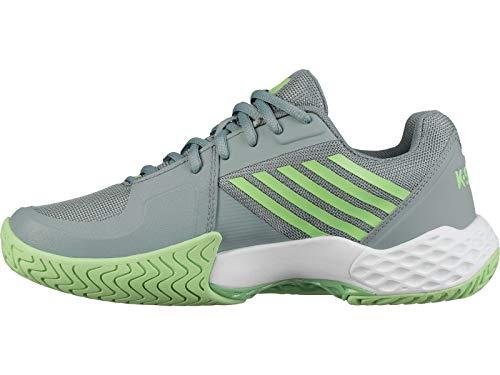 6c66b5323 K-Swiss Women s Aero Court Tennis Shoe (Abyss Paradise Green