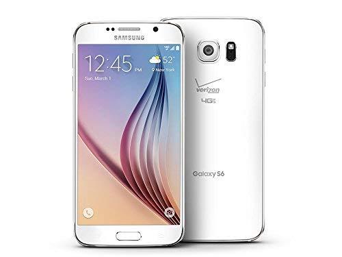 Samsung Galaxy S6 G920V 32GB Verizon + GSM Unlocked - White Pearl (Renewed)