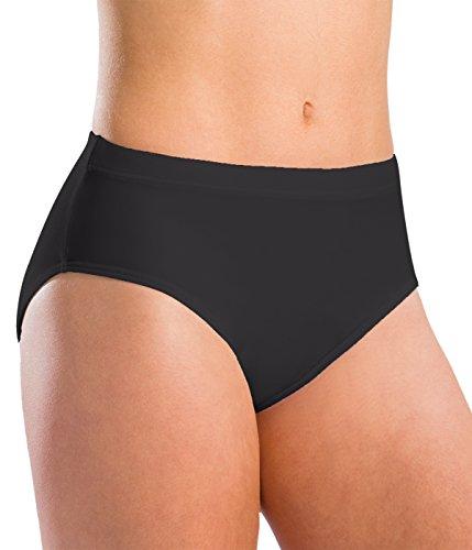 Motionwear Underwear Team Brief, Black, Medium - Briefs Gymnastics