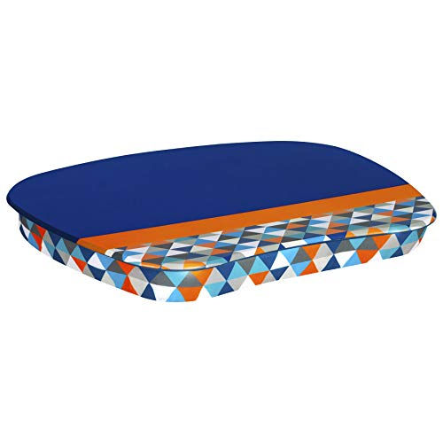 LapGear MyStyle Lap Desk - Blue Geo - Fits up to 15.6 Inch Laptops - Style No. 45315