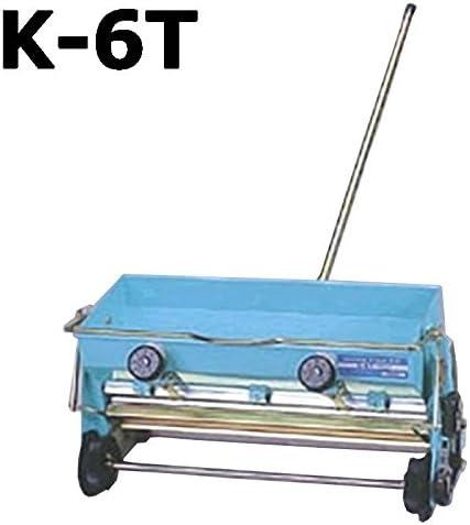 手押し播種機 K-6T たねまき機 覆土兼用 啓文社 オK 代不