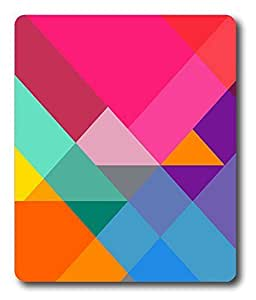 car mouse pads Girly Pattern Colors Cool PC Custom Mouse Pads / Mouse Mats Case Cover