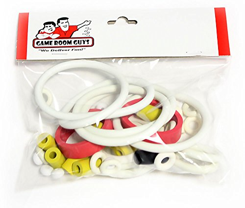 Game Room Guys Williams Taxi Pinball White Rubber Ring Kit