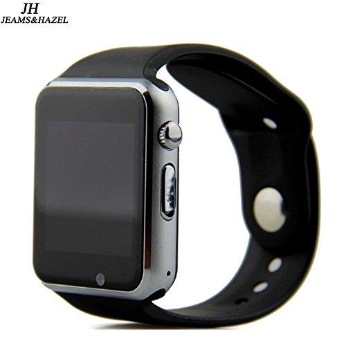 Amazon.com: JEAMS&HAZEL Smart watch DT-A1 (black): Cell ...