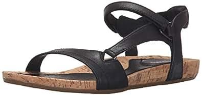 Teva Women's Capri Universal Sandal, Pearlized Black, 5 M US