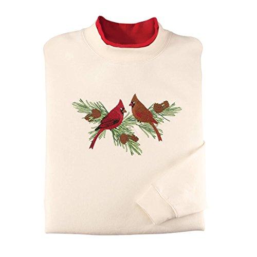 Cardinals on Pine Branch Sweatshirt
