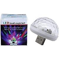Luz LED de ambiente USB para coche, luces