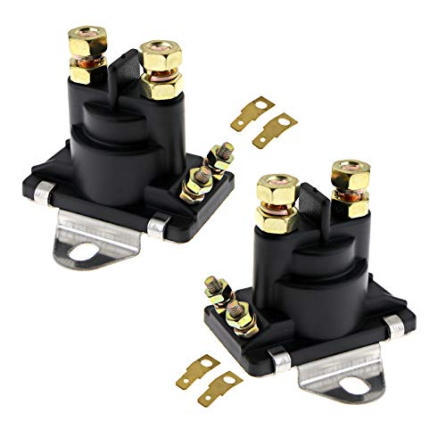 (SING F LTD Starter Tilt Trim Pump Relay Solenoid for Mercruiser Replaces 89-96158T 12v)