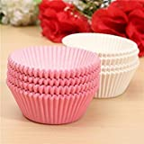 Hpk Diy 100Pcs Paper Cakecup Liners Baking Cup Muffin Cases For Christmas/Wedding/Party/Birthday (Assorted Colors)