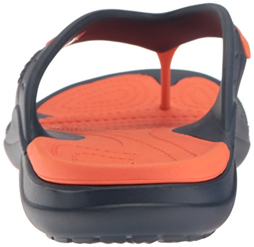 Adulte Crocs Mixte Sport Navy Modi Tongs Flip Tangerine FXqURpXw