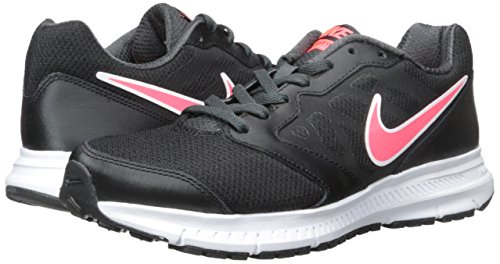 Nike Women's Downshifter 6 Black/Hyper Punch/Anthracite Running Shoe 7.5 Women US - Image 6