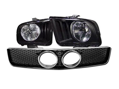 06 mustang grill fog lights - 8