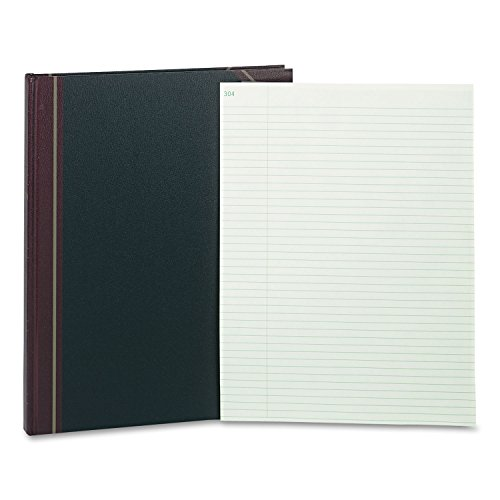 (Rediform 58400 Texhide Record-Ruled Book 14-1/4 x 11-1/4 Eye-Ease GN 300 Sheets)
