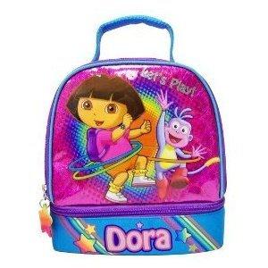 Nickelodeon Dora Hula Dome Lunch Kit - Pink