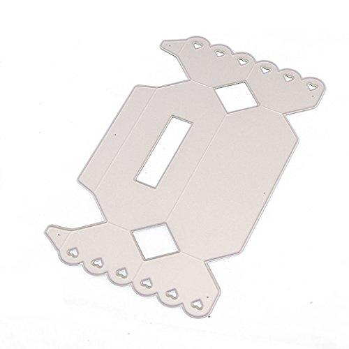 Shoresu Metal Cutting Dies Candy Box Scrapbook Scrapbooking Stencil Template Punch Card Making Crafts Album