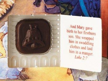 [해외]지구의 평화 초콜릿 강림 달력 (크리스마스 카운트 다운)/Peace on Earth Chocolate Advent Calendar (Countdown to Christmas)
