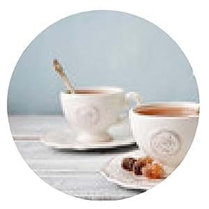 alfombrilla de ratón taza de té - ronda - 20cm