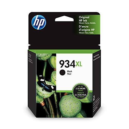 HP 934XL | Ink Cartridge | Black | C2P23AN (Hp Printer Cartridge 935)