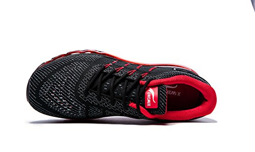 Baskets Air Onemix Homme Course Sport Noir Gym Fitness Rouge Chaussures q64wPxEw5