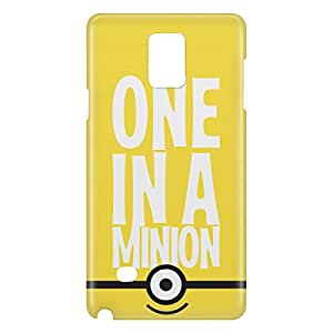 Loud Universe Galaxy Note 5 One In A Minion Print 3D Wrap Around Case - Yellow/White