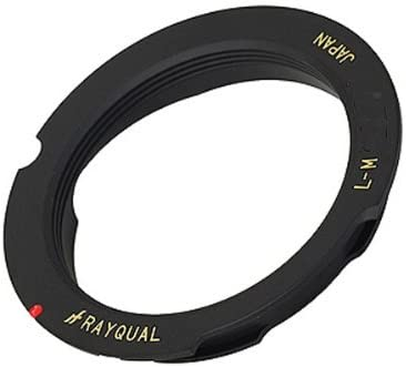rayqual Kindai Mount Adaptor for Leica M Body to Leica L Lens 50-75mm Made in Japan