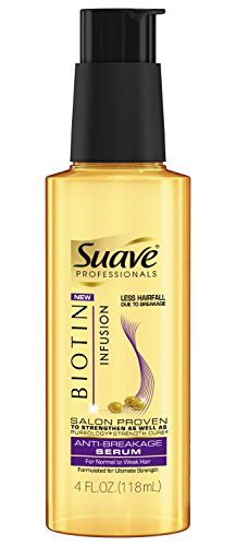 Suave Professionals Anti-Breakage Serum, Biotin Infusion, 4