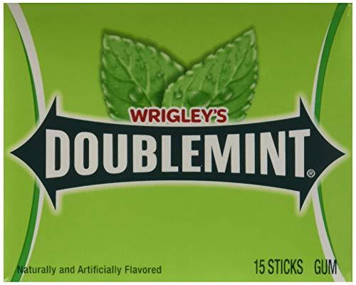 (Wrigley'sTM Doublemint® Gum - 15 stick packs - 10 ct.)