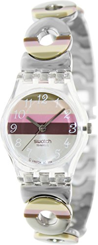 swatch-womens-lk258g-quartz-stainless-steel-silver-pink-brown-dial-measures-seconds-watch