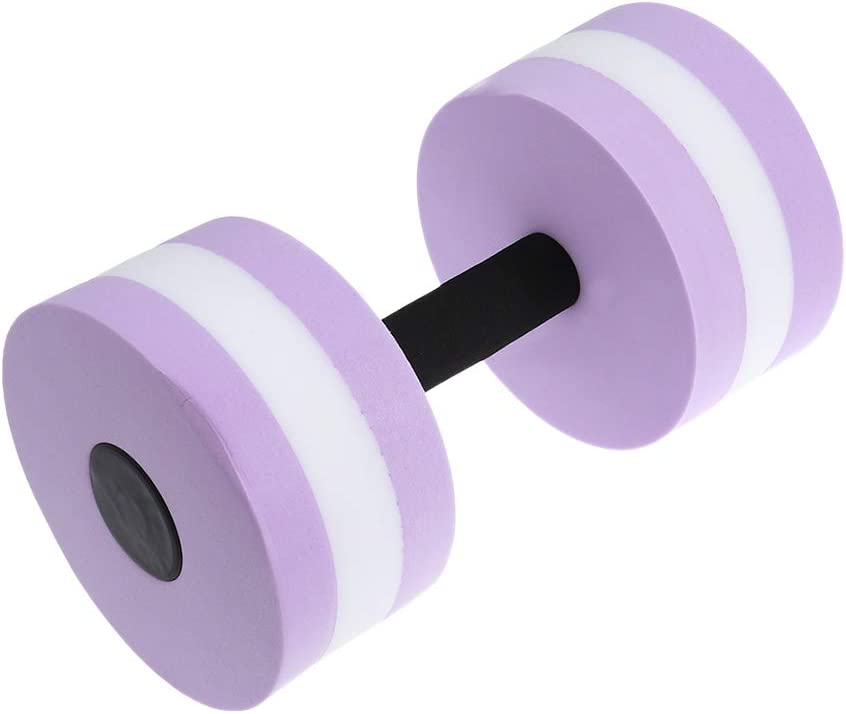 VORCOOL Aqua Mancuernas Mancuernas para Agua Fitness aquagym Aqua Jogging–Purple