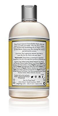 Deep Steep Bubble Bath Lemon - Cream 17 fl oz 503 ml