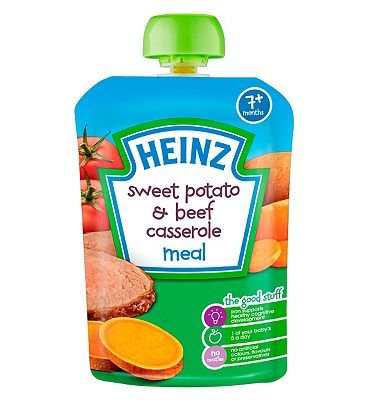 Heinz 7+ Months Sweet Potato & Beef Casserole Meal ()