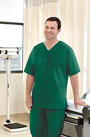 Graham médica 64840 no tejido Scrub para hombre, 50