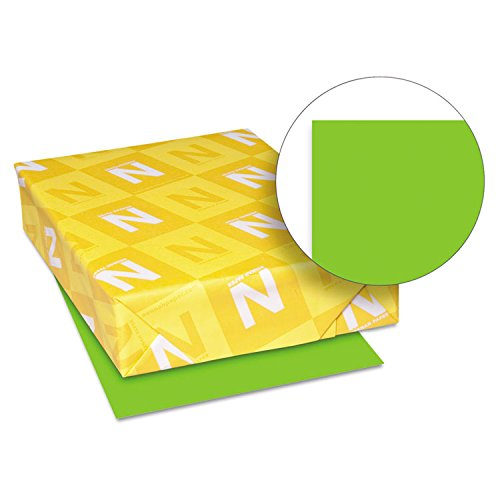 Neenah Paper 21811 Color Cardstock, 65lb, 8 1/2 x 11, Martian Green, 250 Sheets