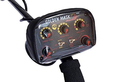 Golden Mask GM5 detector de metal con radio de auriculares a prueba de agua de bobina de metal de búsqueda automática de dispositivo detector de la ...