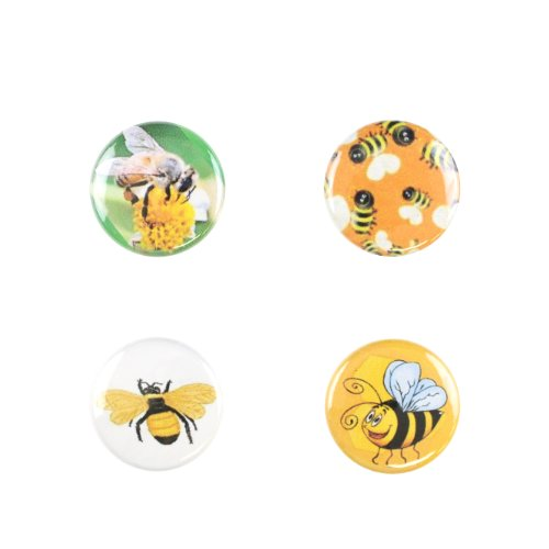 Il Bere Wine and Drink Charms Animal Collection, Bumble Bees by Il Bere