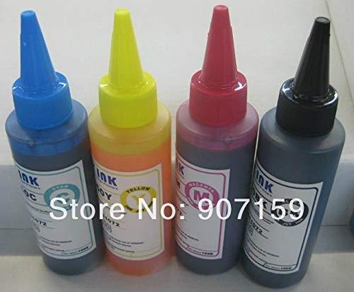 Yoton 4 Colors dye Ink for T1971 T1962-T1964 and Eps0n Expression XP101 XP201 XP204 XP211 XP214 XP401;100ml/bottle by Yoton