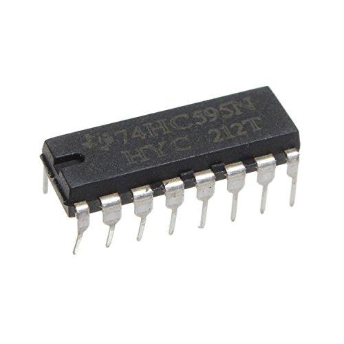 Bluelover 75Pcs Sn74Hc595N 74Hc595 74Hc595N Hc595 Dip-16 8 Bit-Schieberegister Ic