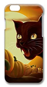 iphone 6 plus 5.5inch Cases & Covers Screaming Black Cat Halloween Custom TPU Soft Case Cover Protector for iphone 6 plus 5.5inch