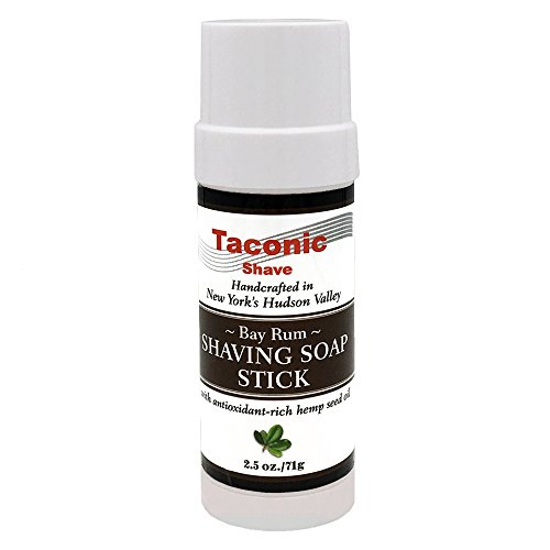 Taconic Shave Bay Rum Shaving Soap Stick with Antioxidant-Rich for sale  Delivered anywhere in USA