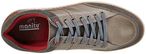Manitu Gris Zapatos Hombre Cordones para 9 641286 de Brogue Grau AAqwrfx