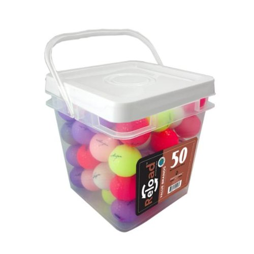 50 Ball Bucket of Assorted Crystal Recycled Balls - Case Pack 4 SKU-PAS965583