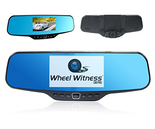 wheelwitness cm pro premium hd dash camera with rear. Black Bedroom Furniture Sets. Home Design Ideas