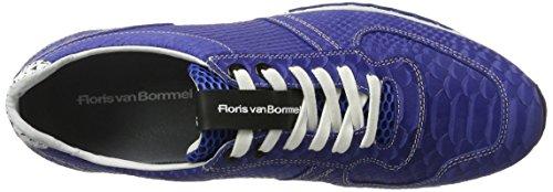 Floris van Bommel 16227/10 - Zapatillas de casa Hombre Blau (Blue)