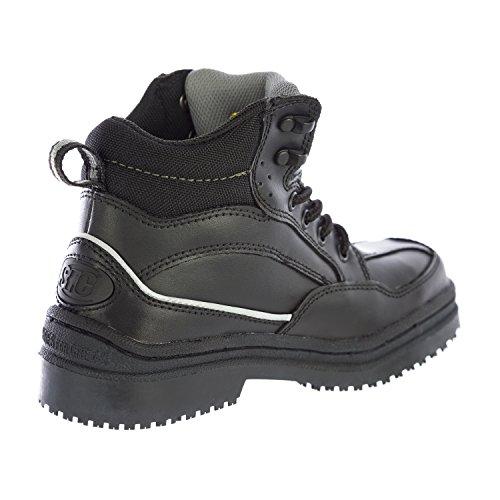 Leather Crews Black Shoes Boots For Neo Men's 5255 IRIqPx6