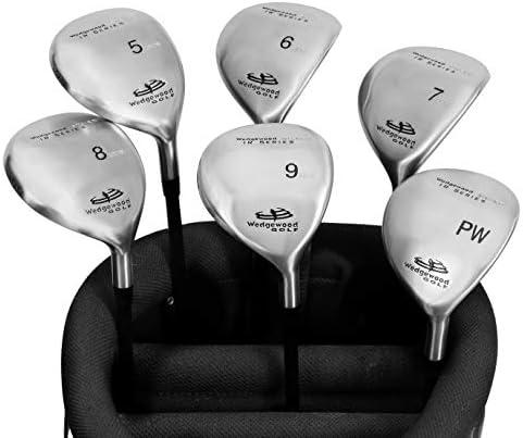 Silver IR Series Hybrid Golf Clubs 6 Club Set 5i-PW