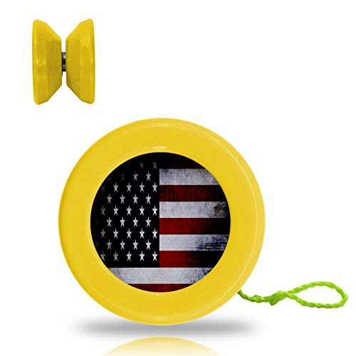 Flag USA Dark Stars and Stripes Yo-Yo Toys are Suitable for sale  Delivered anywhere in USA