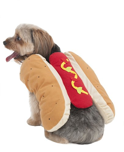 Fashion Pet Hot Dog Pet Costume, Medium